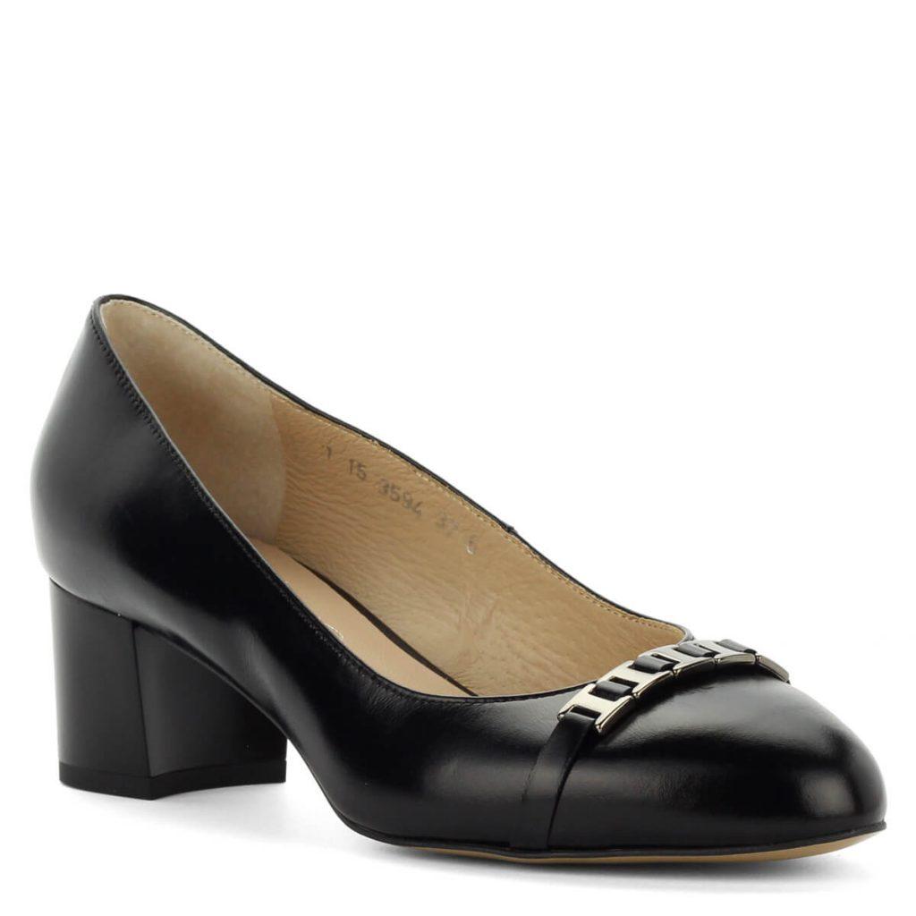 A cipő megvásárolható webáruházunkban és cipőüzleteinkben Győrben.  Terméklap  https   webshop.chix.hu noi-cipo kozepes-sarku-anis-bor-cipo -3594-black  86722f5e7e