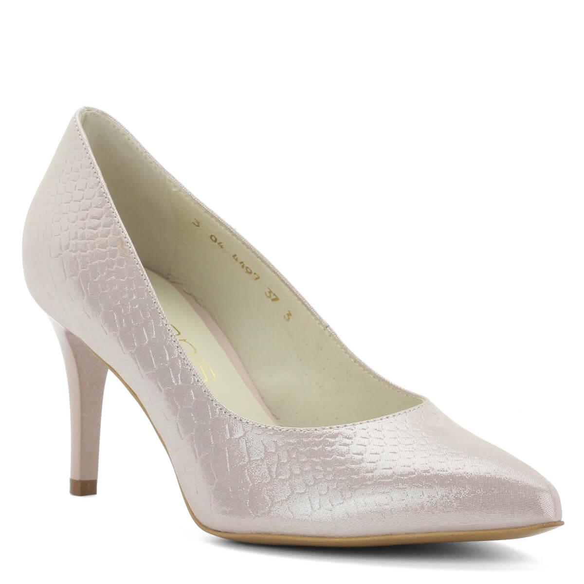 6c3855c531 Nagyon különleges hegyes orrú cipő 8 cm magas sarokkal. Elegáns, különleges  modell. Márka: Anis Szín: Púder Modellszám: 4497 POWDER ...